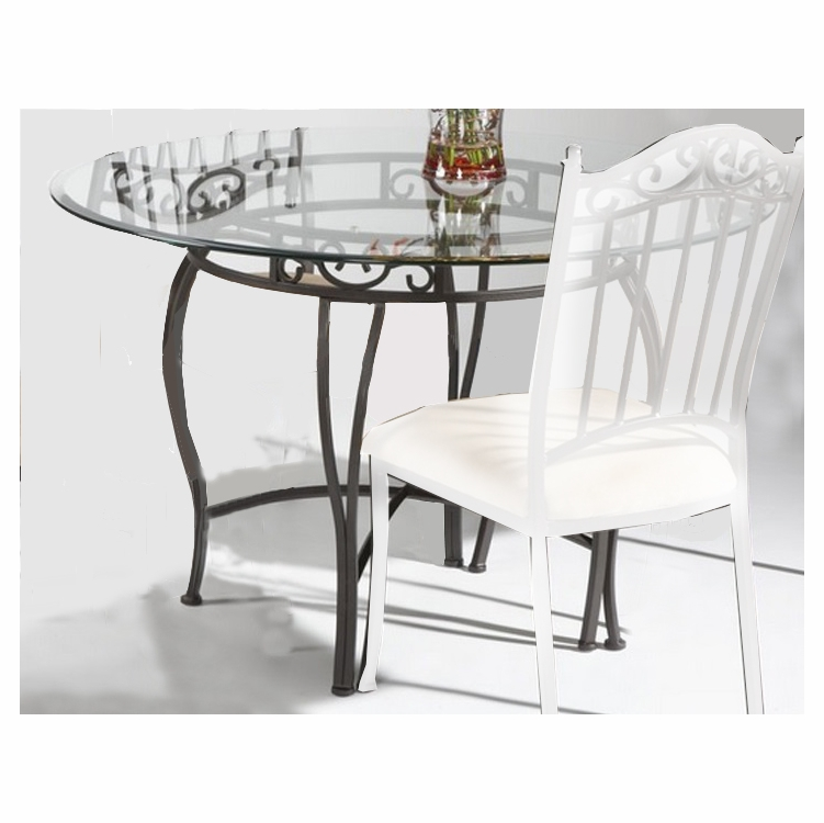 Chintaly - Dining Table Round With Bevel Edge - 0710-DT