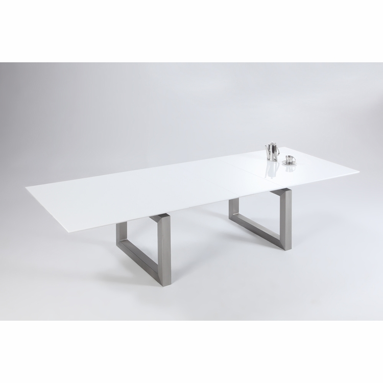 Chintaly - Ebony Dining Table in White - EBONY-DT