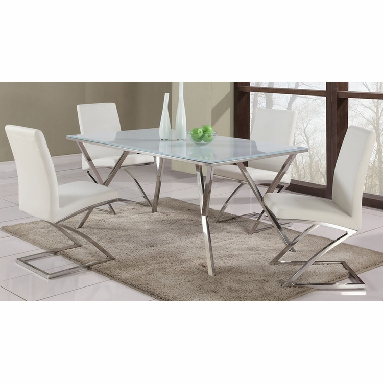 Chintaly - Jade 5 Piece Dining Set - JADE-DT_SC