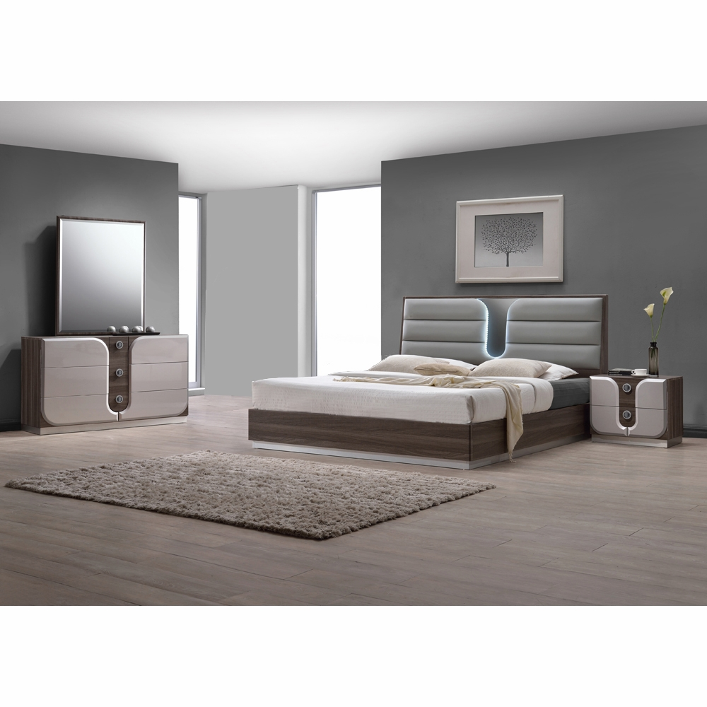 Chintaly - London 4 Piece Queen Bedroom Set - LONDON-QUEEN-4-PC