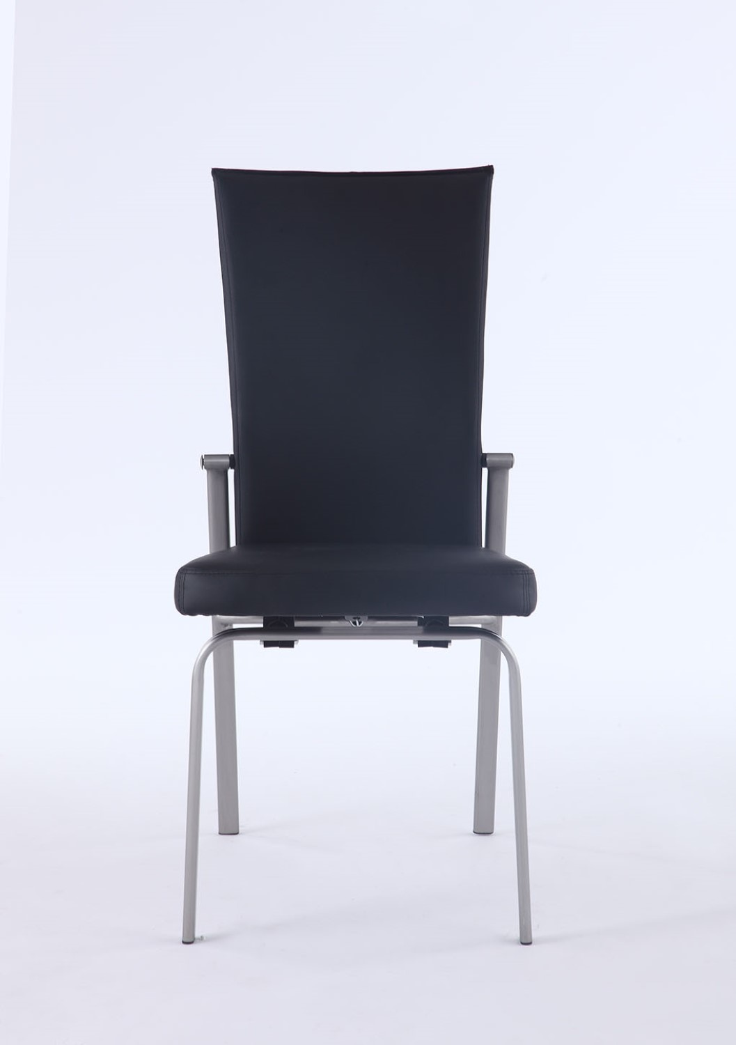 Chintaly Molly Motion Back Side Chair In Black Set Of 2