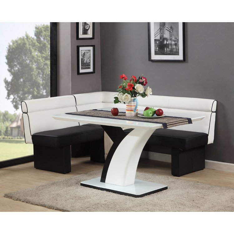 Chintaly - Nook Dining Set - NATASHA-NOOK-SET