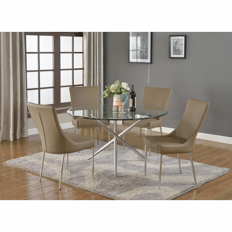 Chintaly - Patricia 5 Piece Dining Set - PATRICIA-DT-SET