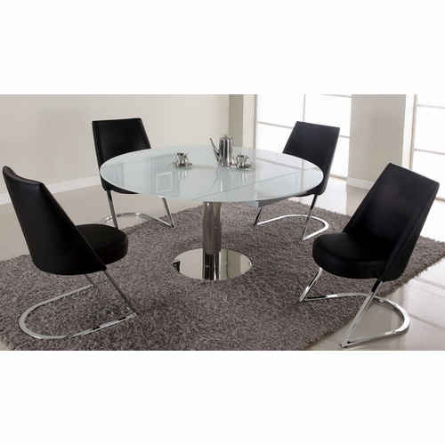 Chintaly - Tami 5 Piece Dining Set With Tami Side Chairs - TAMI-DT-CRM_SC_SC