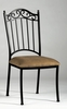 Chintaly - Wrought Iron Side Chair  Set of 4 - 0710-SC