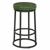 Classic Home - Jaden Counter Stool Antique Green - 53003825