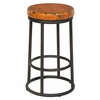 Classic Home - Jaden Counter Stool Antique Old Orange - 53003826