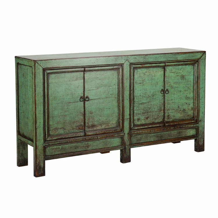 Classic Home - Otsego 4 Door Sideboard Antique Green - 52003766