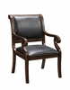 Coast to Coast Imports - Accent Chair In Rich Textured Brown - 94032