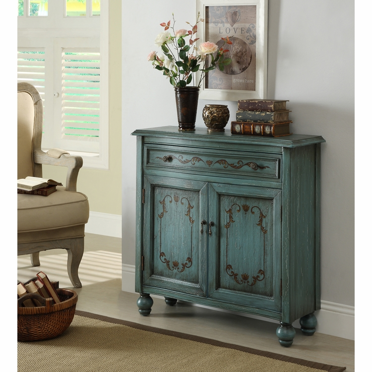 Coast to Coast Imports - Accent Chest In Dearington Teal - 46315