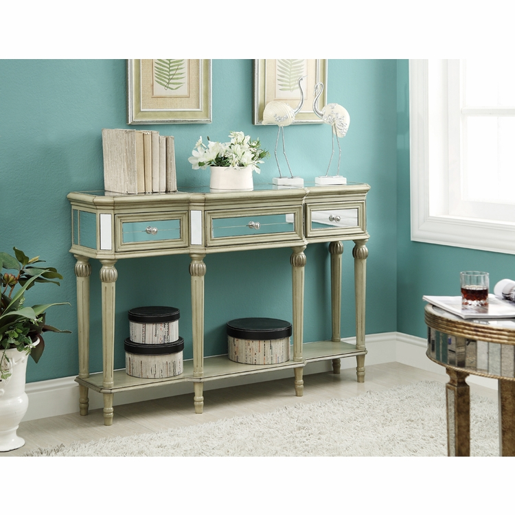 Coast to Coast Imports - Three Drawer Cabinet In Ellerson Burnished Parchment - 50631