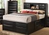 Coaster - Briana Queen Bed in Black Finish - 202701Q