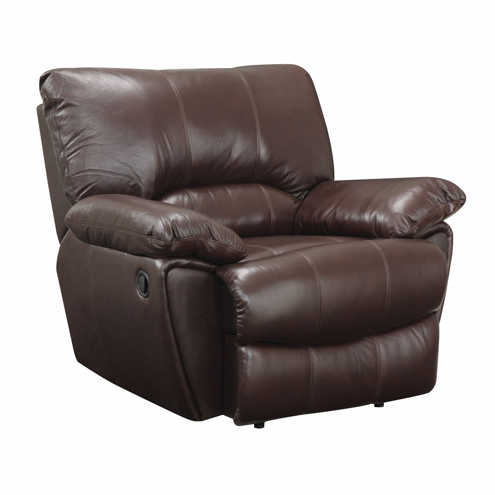 Magnificent Coaster Clifford Recliner Chair Dark Brown 600283 Gmtry Best Dining Table And Chair Ideas Images Gmtryco