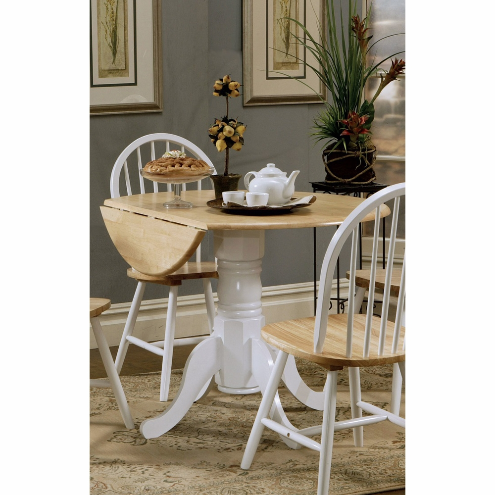 Sensational Coaster Dining Table Natural Brown White 4241 Pdpeps Interior Chair Design Pdpepsorg