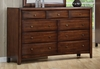 Coaster - Hillary Dresser in Walnut Finish - 200643