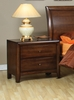 Coaster - Hillary Night Stand in Walnut Finish - 200642