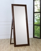Coaster - Hillary Standing Mirror in Walnut Finish - 200647