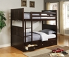 Coaster - Jasper Bunk Bed in Cappuccino Finish - 460136