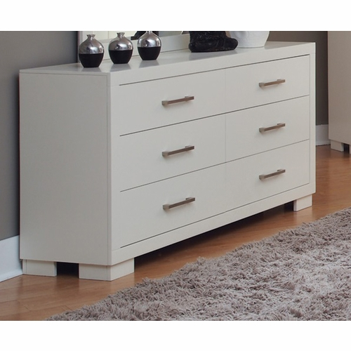Coaster - Jessica Dresser in White Finish - 202993