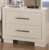 Coaster - Jessica Night Stand in White Finish - 202992