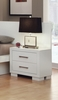 Coaster - Jessica Nightstand Panel (Pair) in White Finish - 202992P