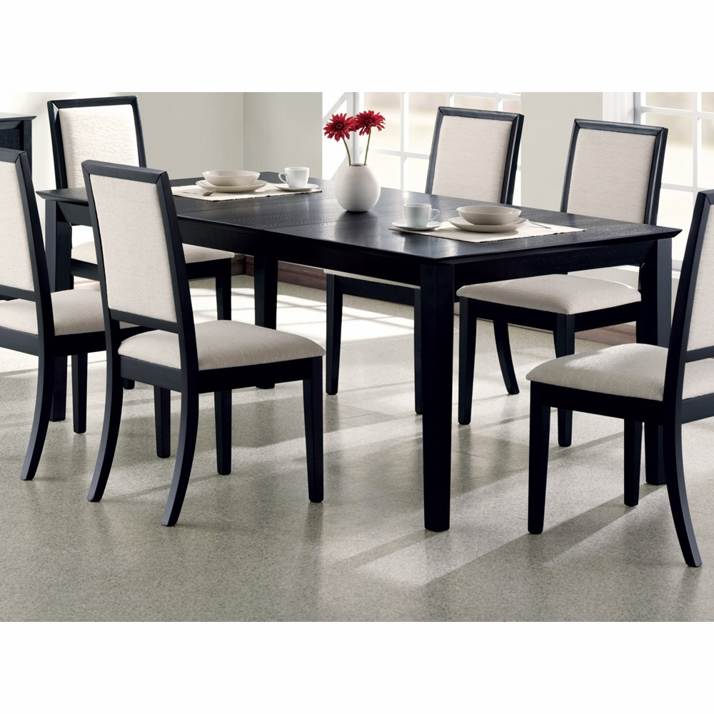 Coaster Lexton Dining Table In Black
