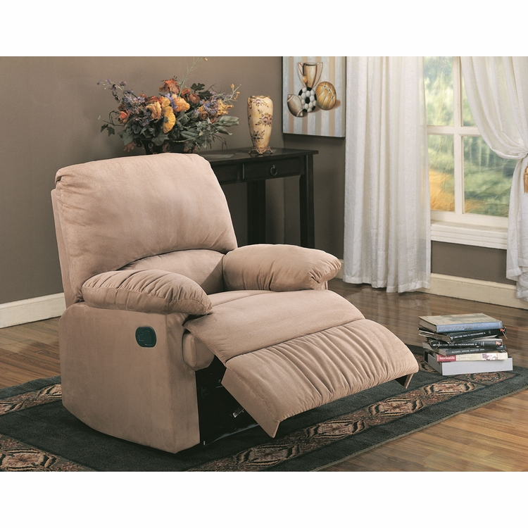 Miraculous Coaster Light Brown Recliner 600264 Gmtry Best Dining Table And Chair Ideas Images Gmtryco