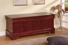 Coaster - Louis Philippe Cherry Cedar Chest in Cherry Finish - 900022