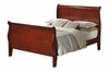 Coaster - Louis Philippe Full Bed in Cherry Finish - 200431F