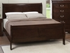 Coaster - Louis Philippe Queen Bed in Cappuccino Finish - 202411Q