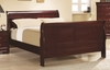 Coaster - Louis Philippe Queen Bed in Cherry Finish - 203971Q