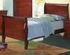 Coaster - Louis Philippe Twin Bed in Cherry Finish - 200431T