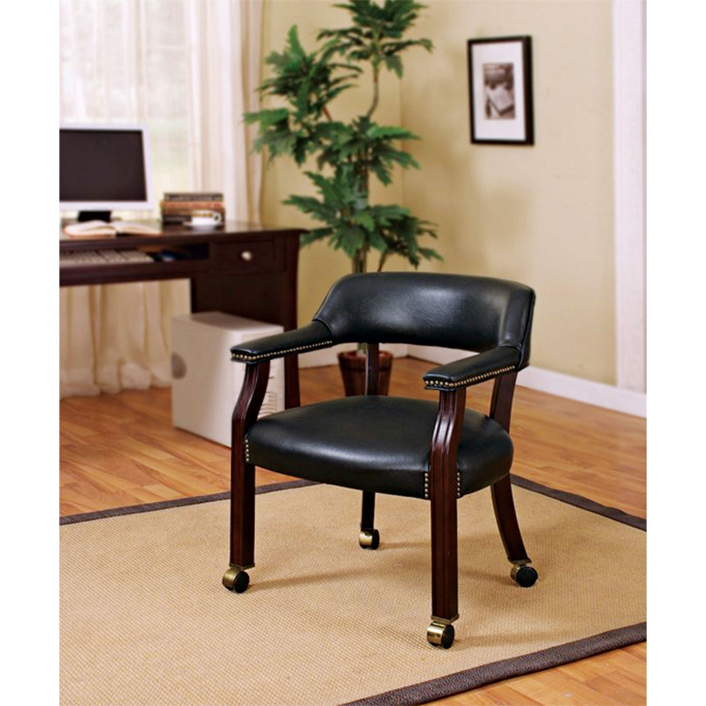 Coaster Office Guest Chair Black 515k