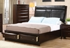 Coaster - Phoenix Queen Bed in Cappuccino Finish - 200419Q