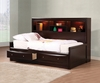 Coaster - Phoenix Twin Bed in Cappuccino Finish - 400410T