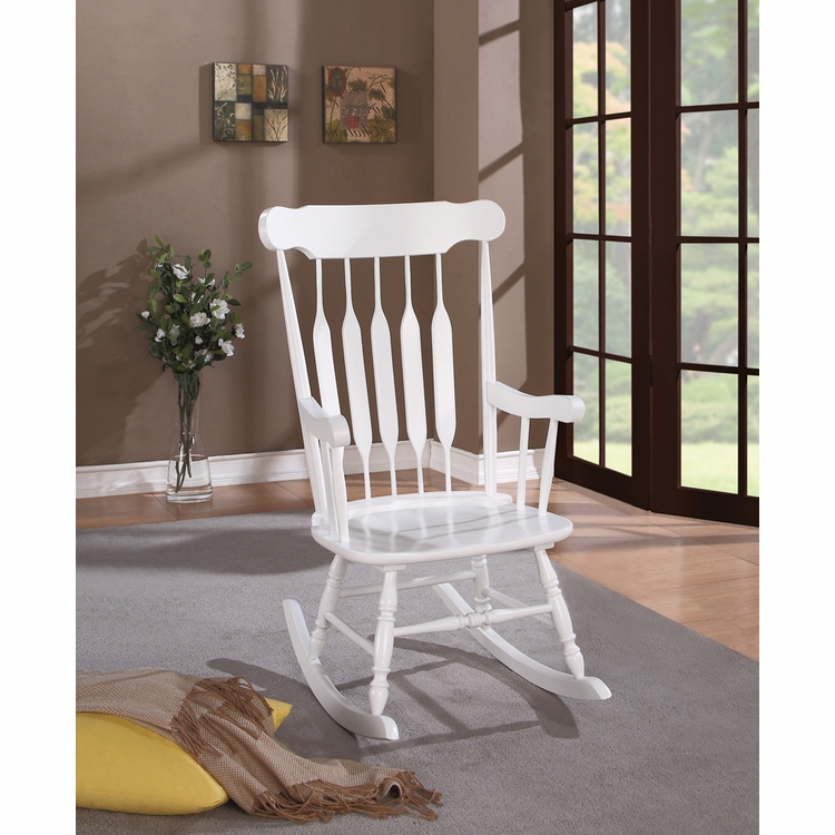 Coaster - Rocking Chair (White) - 600174