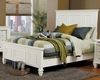 Coaster - Sandy Beach California King Bed in White Finish - 201301KW