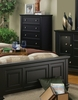 Coaster - Sandy Beach Chest in Black Finish - 201325