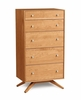 Copeland Furniture - Astrid 5 Drawer Dresser - 2-AST-50