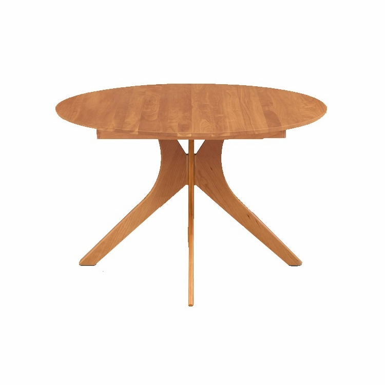 "Copeland Furniture - Audrey 48"" Round Extension Table - 6-ARE-48"