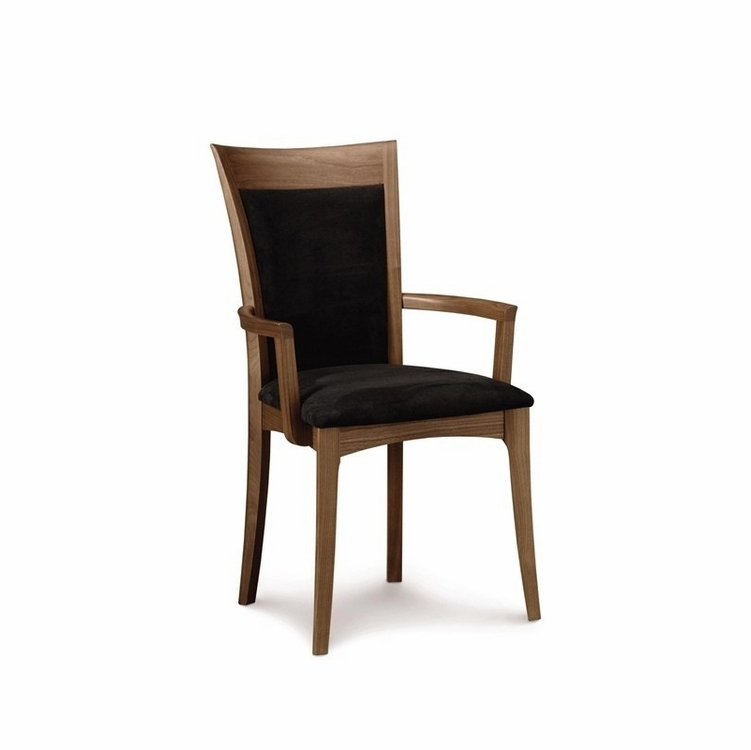 Copeland Furniture - Audrey Morgan Armchair In Natural Walnut - 8-MOR-32-04