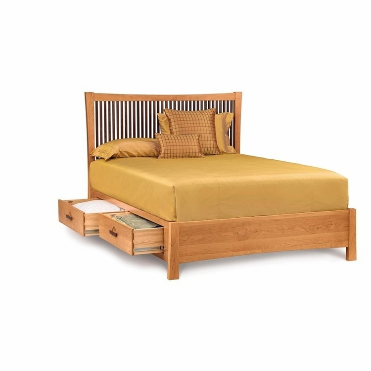 Copeland Furniture - Berkeley Cal King Bed With Storage - 1-BER-15-STOR