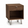 Copeland Furniture - Canto 1 Drawer Dresser in Natural Walnut - 2-CAN-10-04