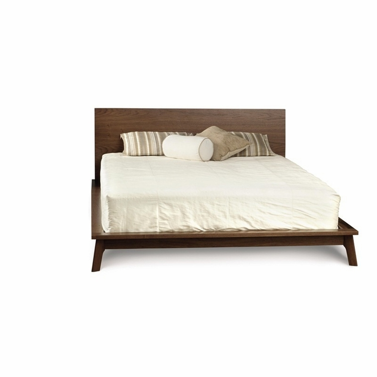 "Copeland Furniture - Catalina 40"" Cal King Bed In Natural Walnut - 1-CAL-15-04"