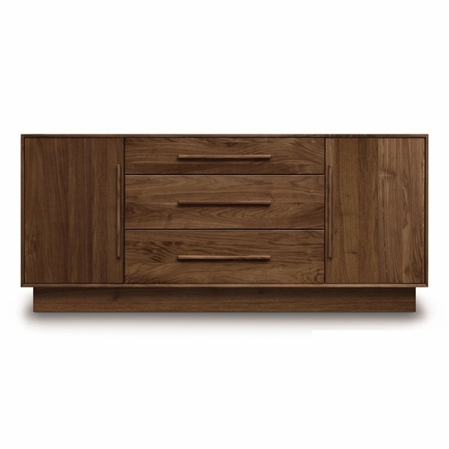 """Copeland Furniture - Moduluxe 29"""" 1 Door On Either Side Of 3 Drawers Dresser - 4-MOD-50"""