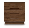 "Copeland Furniture - Moduluxe 29"" 4 Door Dresser - 4-MOD-40"