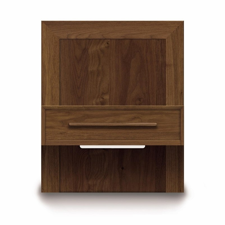 "Copeland Furniture - Moduluxe 29"" High Box Nightstand To Match Plinth Base Bed - 24"" Wide - 2-MOD-02"