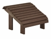 CR Plastic Products - Generations Premium Footstool in Chocolate - F04-16