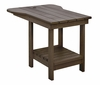 CR Plastic Products - Generations Tete A Tete Table in Chocolate - A12-16