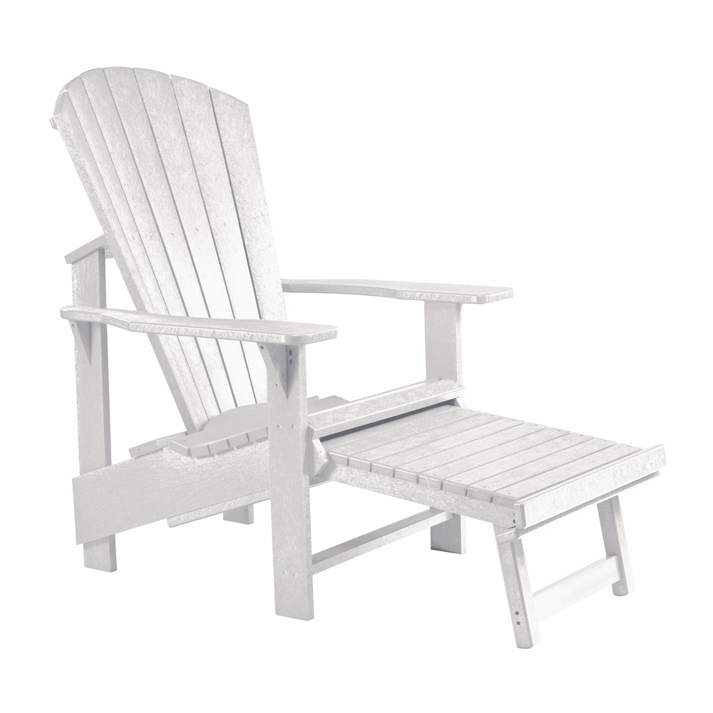CR Plastic Products   Generations Upright Adirondack Chair In White    C03 02. Hover To Zoom